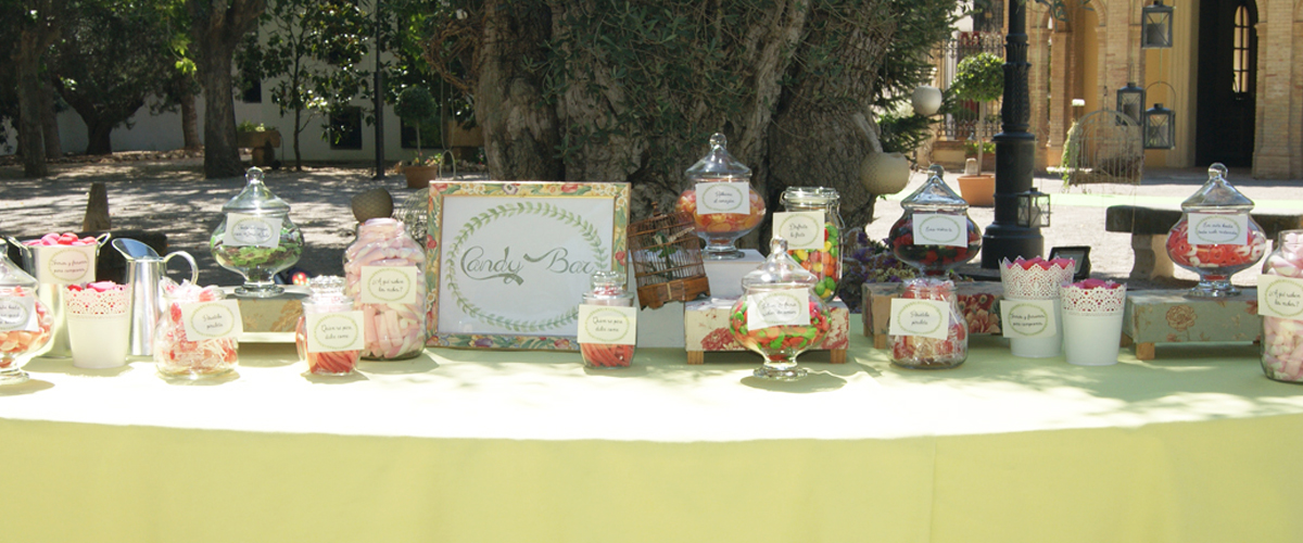 Candy bar valencia boda